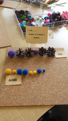 Loose Parts Patterning Task Cards