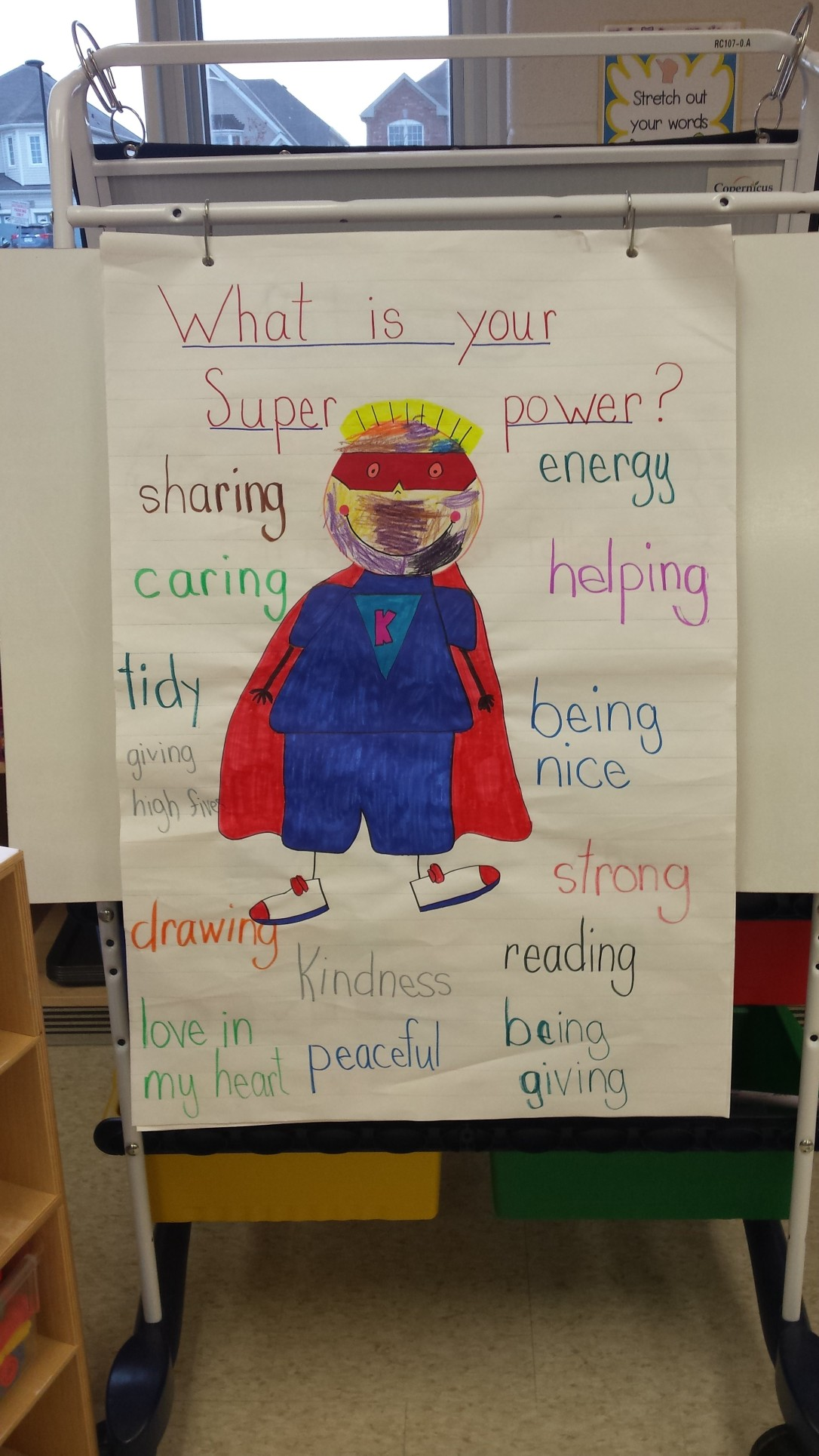 anchor chart-superhero