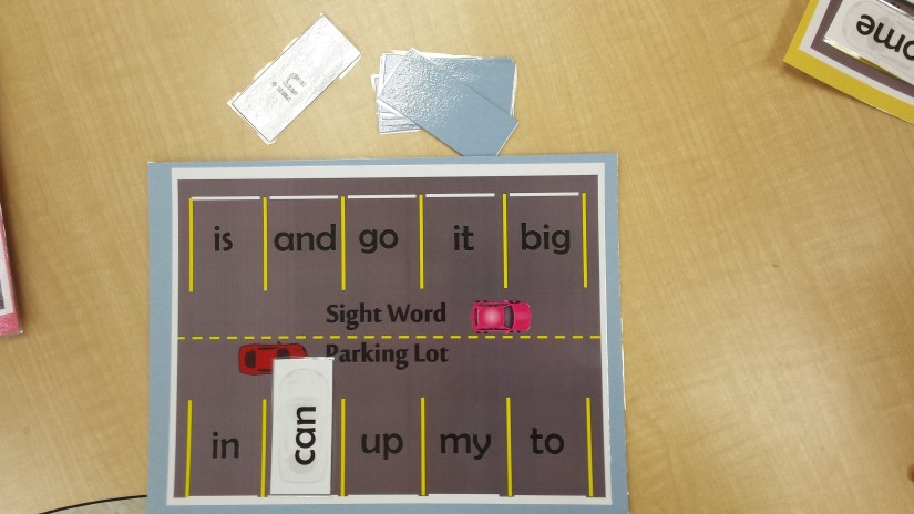 sight word parking lot pic1