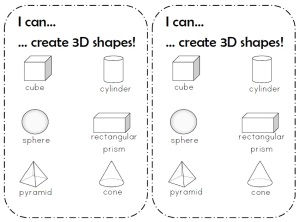 I can 3D shapes3