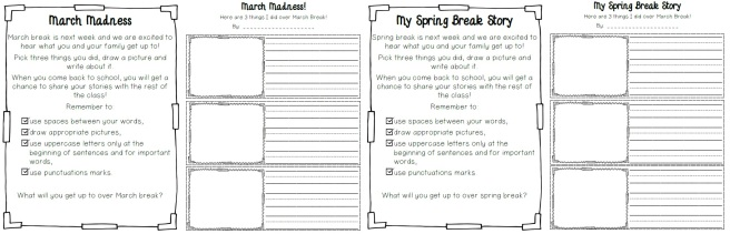 march madness and spring break preview