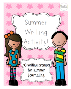 Summer Writing Activity Preview01
