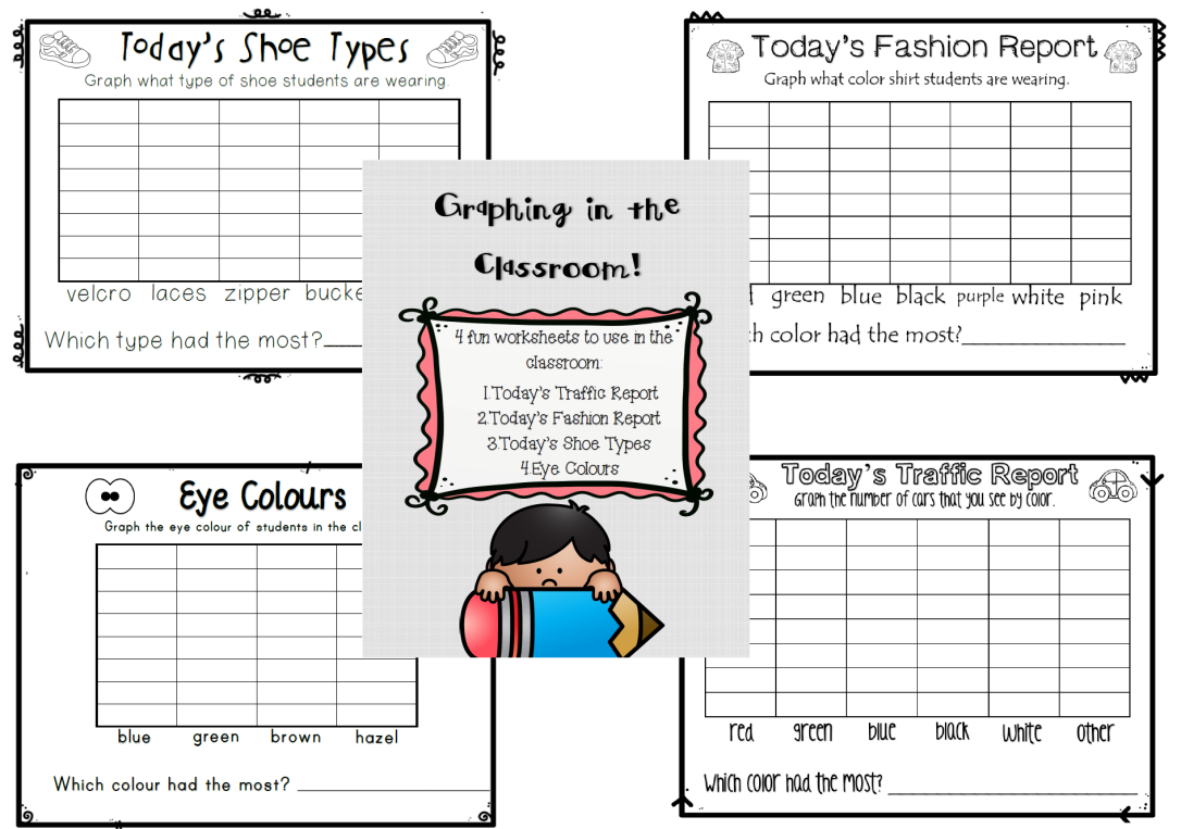 Graphing in the Classroom Freebie