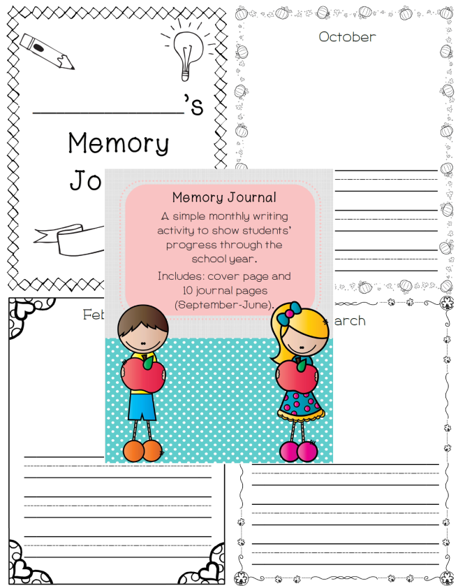 Memory Journal Picture Preview