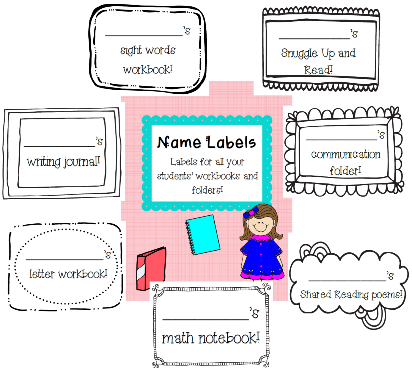 name labels preview