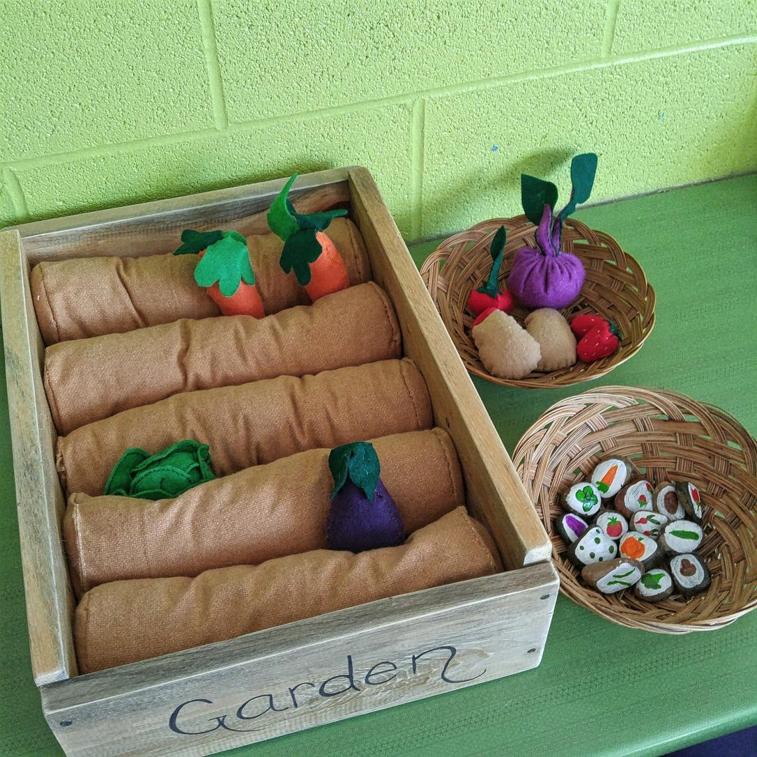 Vegetable Garden Small World Play – Creative Kindergarten