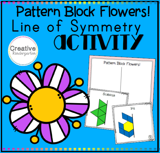Pattern Block Flowers square preview