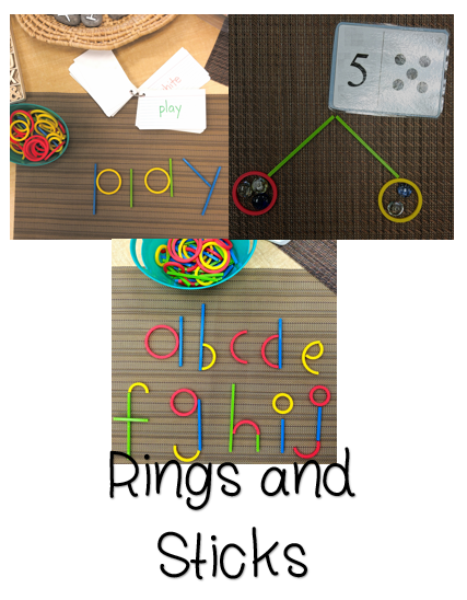 Rings and Sticks