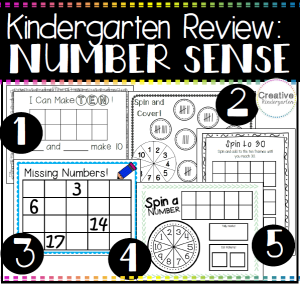 Number Sense Pack Square Preview