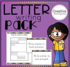 letter writing pack square