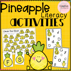 Pineapple Literacy Activities square preview