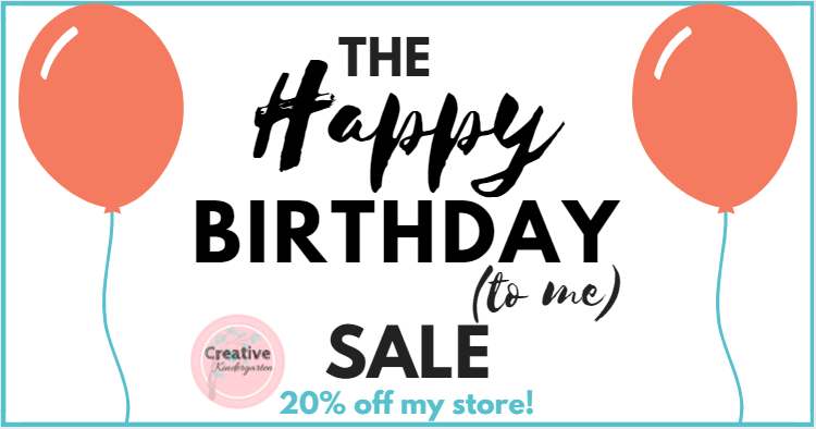 happy birthday sale- blog