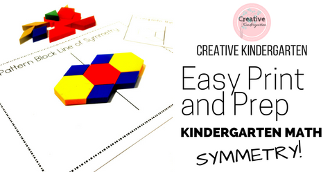 Easy Print and Prep Symmetry -Facebook