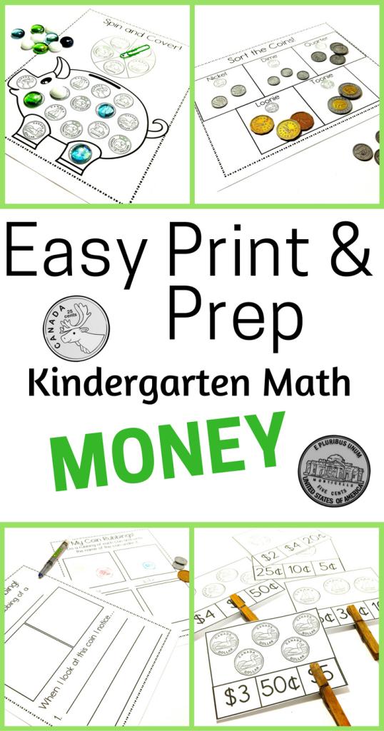 Easy Print & Prep Money- Pinterest