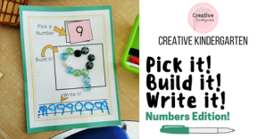 Pick it! Build it! Write it! Numbers Edition-Facebook