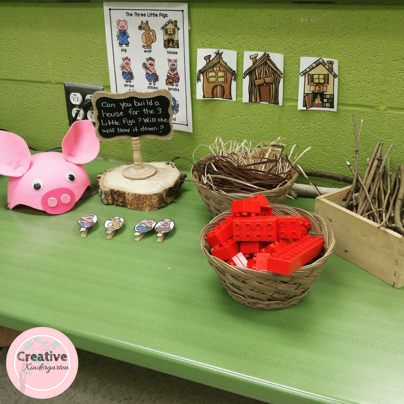 3 little pigs STEM challenge