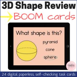 3D Shape Review square thumbnail