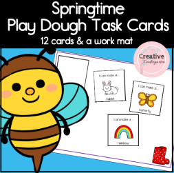 springtime I Can Cards square previrw