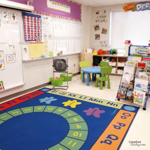 Take a tour of our kindergarten classroom!