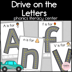 Drive on the letters square preview