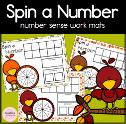 Spin a Number (Fall)- square preview