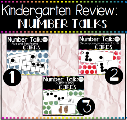 Number Talk Bundle Square Preview